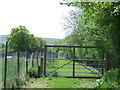 TQ3215 : Gate on the footpath, Ditchling by Malc McDonald
