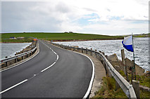 ND4798 : Churchill Barrier No 3 by Andy Farrington