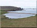 HU2478 : Braewick Loch by Oliver Dixon