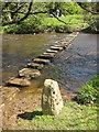 NZ7607 : Shortcut across the River Esk, Lealholm by Pauline E