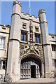 TL4558 : The Great Gate, Christ's College by Philip Halling