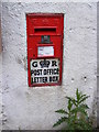 TM1136 : Post Office George V Postbox by Adrian Cable