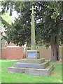 TL2518 : The War Memorial, Woolmer Green by Chris Reynolds