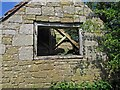 SO5195 : Old barn gable end by Dave Croker