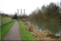 TL3808 : Lea Valley Walk and Navigation by N Chadwick