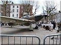 SE6051 : Replica Hawker Hurricane, St. Sampson's Square, York by Derek Voller