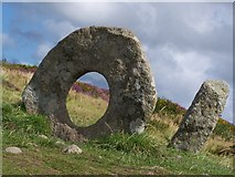 SW4234 : Holed stone of Men-an-Tol by Debbie J