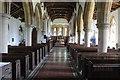 TF0836 : Interior, St Peter's church, Threekingham by J.Hannan-Briggs