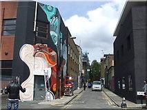 TQ3382 : Chance Street, Shoreditch by Malc McDonald