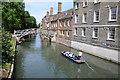 TL4458 : River Cam, Cambridge by Philip Halling