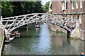 TL4458 : Footbridge over the River Cam by Philip Halling