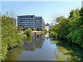 SE2933 : River Aire, Whitehall by David Dixon