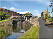 SE2833 : Oddy Locks, Leeds and Liverpool Canal by David Dixon