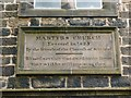 NS4763 : Martyrs' Parish Church (detail) by Lairich Rig