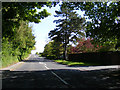 TM3865 : B1122 Main Road, Kelsale by Adrian Cable