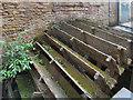 SE2734 : Water Wheel, Armley Mills by David Dixon