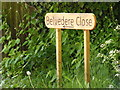 TM3865 : Belvedere Close sign by Adrian Cable