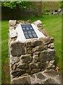 NS4763 : Memorial for personnel of Woodside First Aid Post by Lairich Rig