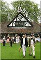 TQ2978 : Westminster School cricket pavilion by Hugh Chevallier