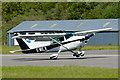 NM9035 : G-MILN lands at Oban Airport by The Carlisle Kid
