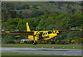 NM9035 : G-HEBS lands at Oban Airport by The Carlisle Kid