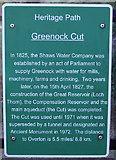 NS2472 : Greenock Cut by Thomas Nugent