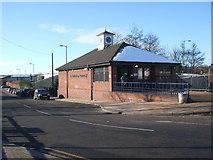 SK4293 : Rotherham Central railway station, Yorkshire, 2009 by Nigel Thompson
