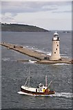SX4650 : Plymouth Sound : Plymouth Breakwater by Lewis Clarke