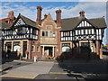 SJ4066 : Ye Olde Bowling Green Hotel, Brook Street, Chester by Bill Harrison