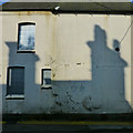 SK5336 : Shadows on the maltings gatehouse by David Lally