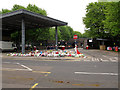 TQ4278 : Tributes to Lee Rigby outside Woolwich barracks by Stephen Craven