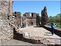 NY0265 : Caerlaverock Castle by Walter Baxter