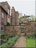 SD4615 : Walled garden, Rufford Old Hall by Carol Walker