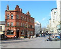 ST1876 : A street of contrasts, The Hayes, Cardiff by Jaggery