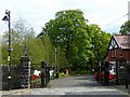 SO1408 : Entrance to Bedwellty Park, Tredegar by Robin Drayton