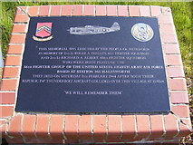 TM4679 : Memorial at Pound Corner by Adrian Cable