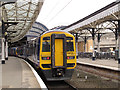 SE5951 : York station, platform 1 by Stephen Craven