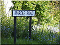 TM4778 : Mardle Road sign by Adrian Cable
