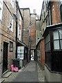 TF3287 : Pawnshop Passage, Louth by Steve  Fareham
