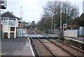 SX9688 : Level crossing, Topsham by N Chadwick