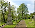NS4663 : 1820 Martyrs' Monument, Woodside Cemetery by Lairich Rig