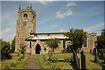 SK8542 : St.Peter's church by Richard Croft