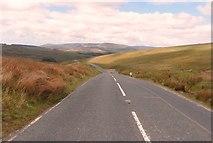 SD7148 : Slaidburn Road crosses Newton Fells by Anthony Parkes