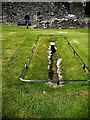 NX1858 : An excavated mediaeval drain by Stanley Howe