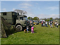 SD6342 : Military Vehicles at Chipping Steam Fair by David Dixon