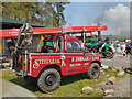 SD6342 : Fred Dibnah's Land Rover at Chipping Steam Fair 2013 by David Dixon
