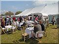 SD6342 : Polly's Pop Up Tea Room, Chipping Steam Fair by David Dixon