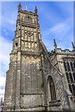 SP0202 : Tower of St John the Baptist, Cirencester, Gloucestershire by Christine Matthews