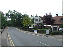 TL3808 : Dobb's Weir Road near Hoddesdon by Malc McDonald