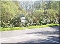 NW9863 : B-roads junction in Cairnhapple Wood by Stanley Howe